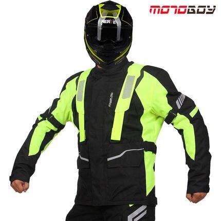 2018 supérieure célèbre noir hiver imperméable veste Oxford Motocross tissus Motoboy armure de corps hommes moto vestes