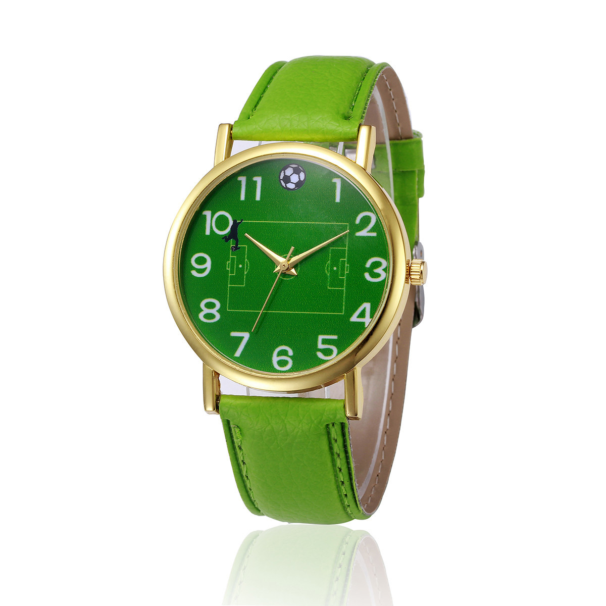 Women's Watch Luxury Top Brand Women Watches Green Japan Leather Female Wrist Clock Water Resistant With Original Box &Ff