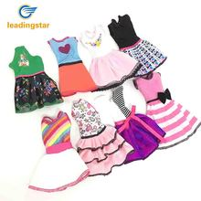 LeadingStar Doll Fashionable Clothing Set Casual One piece Dress for Barbie Doll Style Random 10 pcs  8 pcs  5 pcs