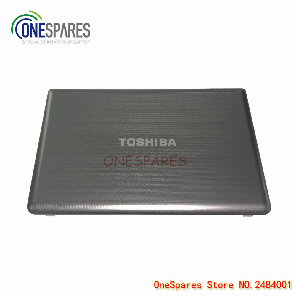 New Original Laptop LCD Rear Lid Screen Top Cover Back Cover For TOSHIBA P850 P855 Series A Shell Gray Case Frame AP0OT000F01 new laptop base bottom case d cover for toshiba p850 p855 series part number shell ap0ot000210