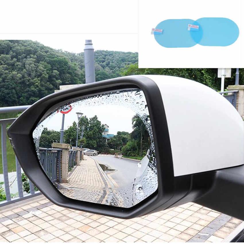車のバックミラー保護フィルムステッカーシトロエン xsara ピカソラジオ 2 ディンアンドロイド bmw e61 シュコダラピッドメルセデス w210