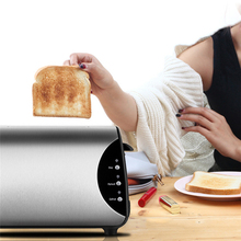 Electric Toaster Waffle Maker Electrical Grill Automatic Sandwich Breadmaker 2 Slices Breakfast Maker Free Shipping