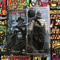 NECA New Arrival Leatherface Classic Terror Movie a Nightmare on Elm Street 5 The Dream Child Freddy Action Figure 18cm
