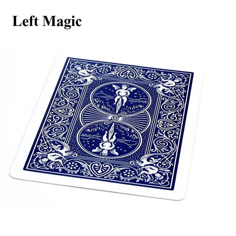 Classic Toys New Floating Card Magic Trick Playing Card Suspension Close Up Magic Props Street Bar Illusion Magic Tricks