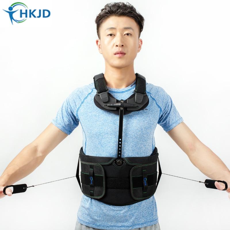 Adjustable Posture Corrector Orthopedic Back Support Belt Brace Back Straightener Round Shoulder fixation of lumbar fracture