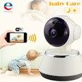 NEW HD 720P High Definition CMOS CCTV Cameras Wireless Home Security Protection Remote Control Night Vision EU Plug