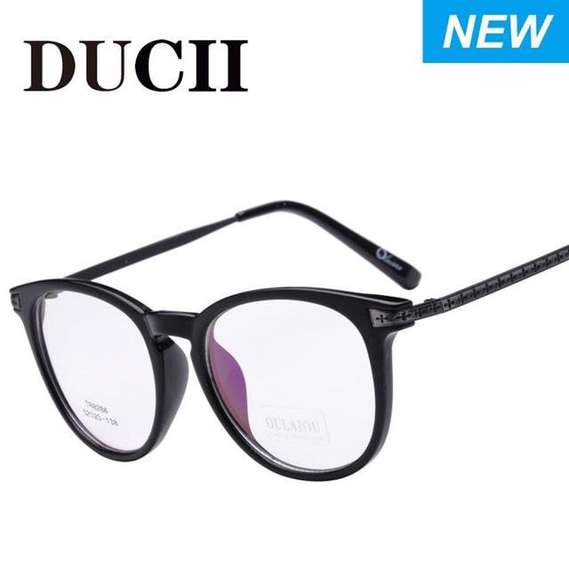 Nueva retros pantalla completa estilo gafas de miopía hombres marcos ópticos marcos de las lentes