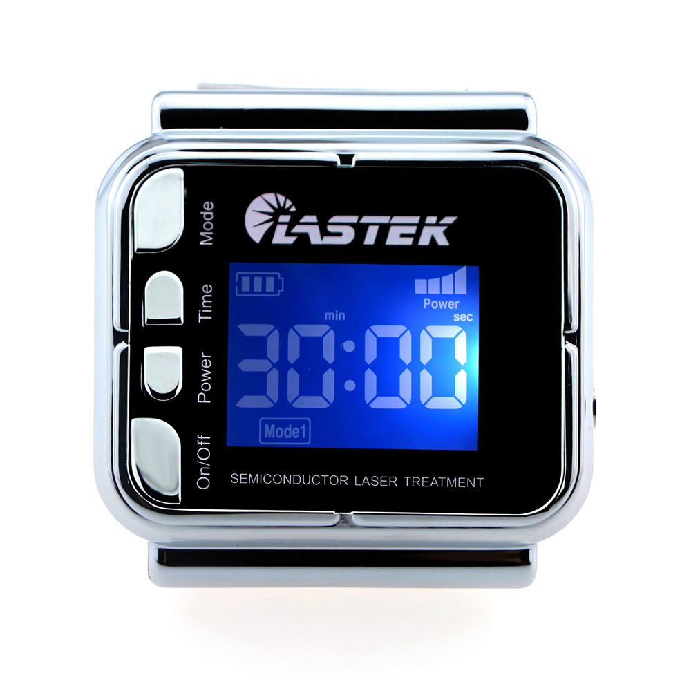 LASTEK laser glucose monitor digital blood glucose watch for blood pressure reduce wrist type ce certified reduce blood glucose soft laser therapeutic healthcare device