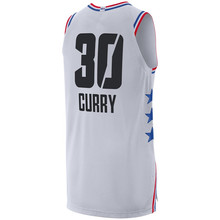 New 2019 All Star Games Stephen Curry black white basketball jersey Custom  Name Stitched(China 76e36b035