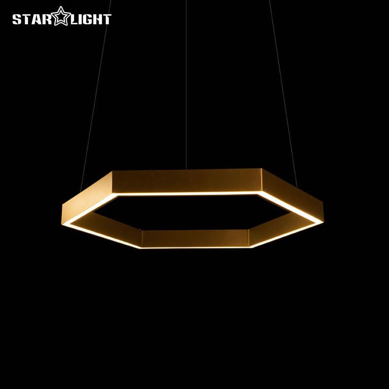 Hex 750 инновационный шестигранный подвесной светильник для гостиной, спальни, столовой, ресторана, подвесной светильник