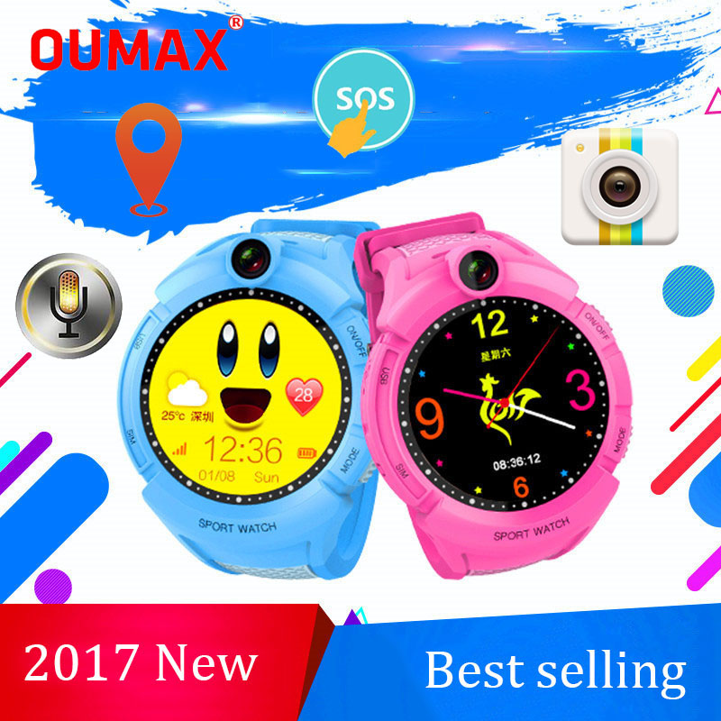 ФОТО OUMAX S14 Children GPS Smart Watch Baby Smartwatch SOS Call Location Device Tracker for Kids Safe Anti-Lost Monitor Android IOS