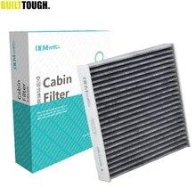 Автомобильный пыльца Кабина Кондиционер фильтр активированный уголь для Honda City Civic X CR-Z Fit 3 4 HR-V Insight 2011 2012 2013