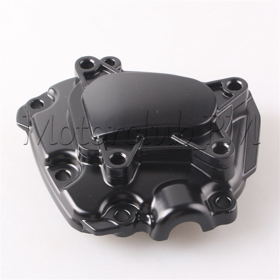 Aluminum Engine Stator Cover Crankcase Crank Case For Yamaha YZF R1 2009-2014 2010 2011 2012 2013 Black car rear trunk security shield shade cargo cover for nissan qashqai 2008 2009 2010 2011 2012 2013 black beige