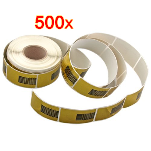 500 X Nail Forms Tool for Acrylic UV Gel Tip Extension