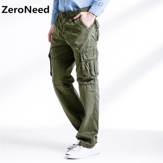 Travail Pour Pantalon Cargo Pantalons De Homme Hommes Décontracté aWFWU1R