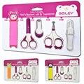 5 pçs/set bebê tesoura unhas Nail clippers Kit segurança criança produtos de cuidados neonatais infantil bebês cuidar das unhas Set manicure