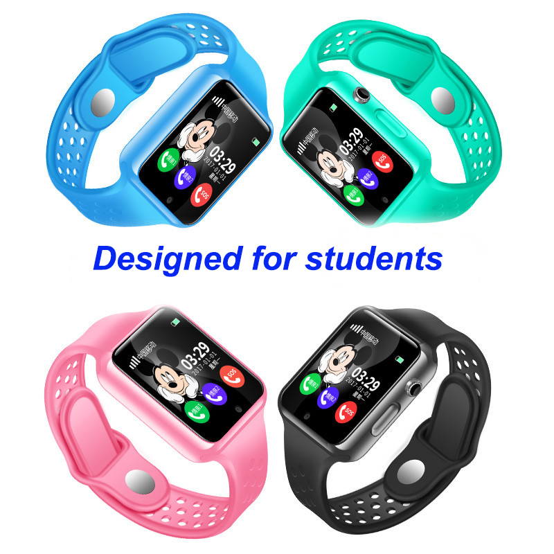 G98 GPS Bluetooth Smart Watch for Kids Boy Girl Apple Android Phone Support SIM /TF Dial Call and Push Message Waterproof