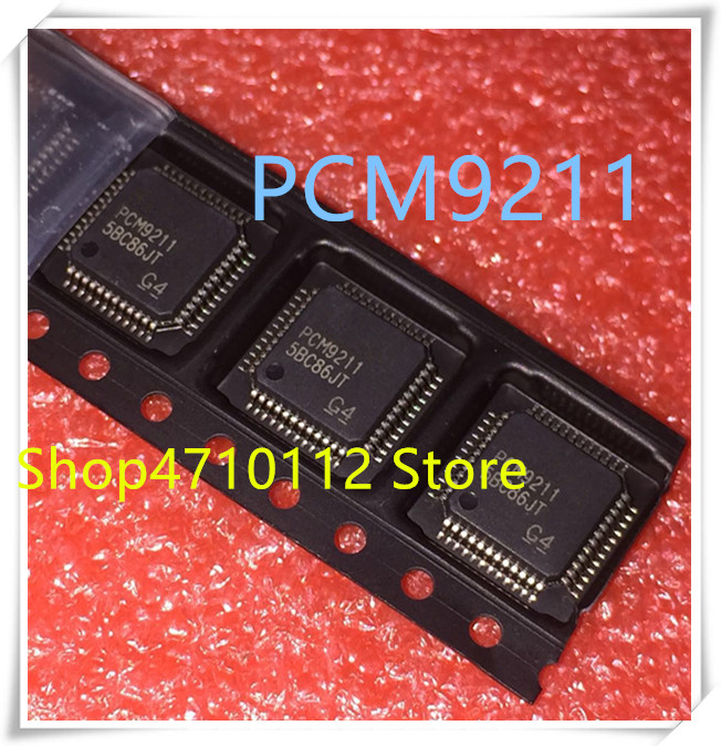 NEW 10PCS/LOT PCM9211PTR PCM9211PT PCM9211 LQFP-48 IC