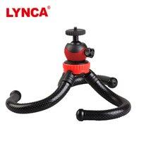 LYNCA Cima pro Travel Outdoor Mini Flexible Bracket Stand tripode Octopus Tripod flexible tripe For phone Digital Camera GoPro