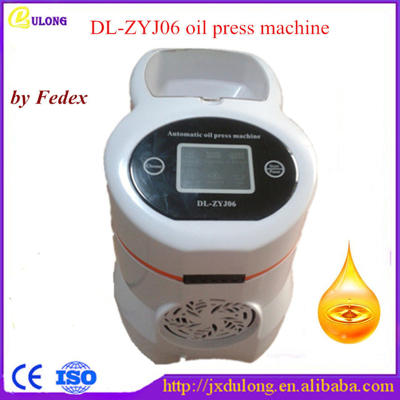 New Oil Cold Press Mini Machine Stainless Steel  Coconut Peanuts Seed Presser Extractor Expeller Cheap