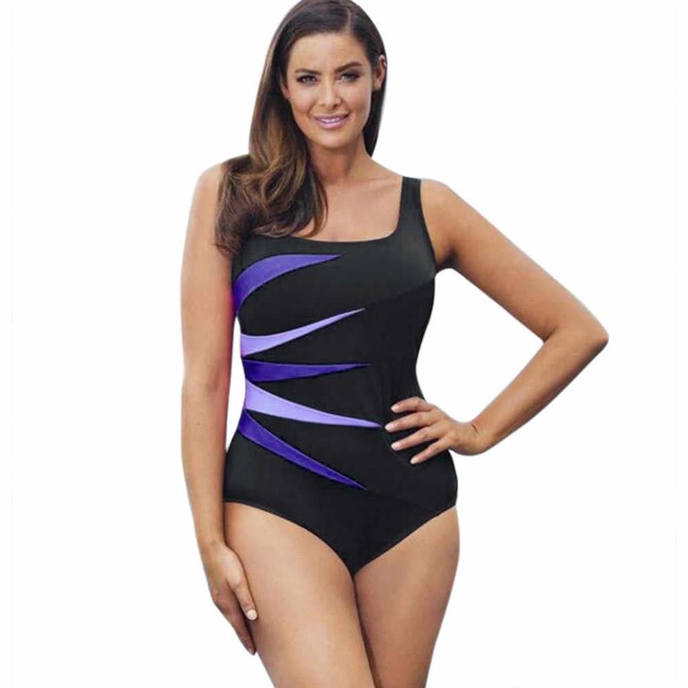 19d0f38bceb KLV Sexy Swimmer Swimsuit Womens Swimming Suit Beachwear Bikini Sets One  Piece Swimsuits Push-Up