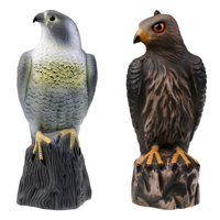 Outdoor PE Fake Realistic Eagle Hunting Decoy Pest Control Bird Pigeon Scarer Scarecrow For Hunting Shooting