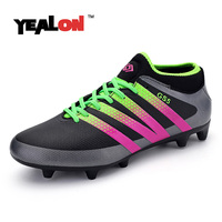 YEALON Men High Ankle Football Boots Original Spike Tf And Ag Football Shoes For Sale Chuteira