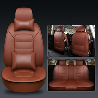 WLMWL Universal Leather Car seat cover for Lexus all models nx lx470 gx470 ES IS RX GX GTH LX car accessorie car styling