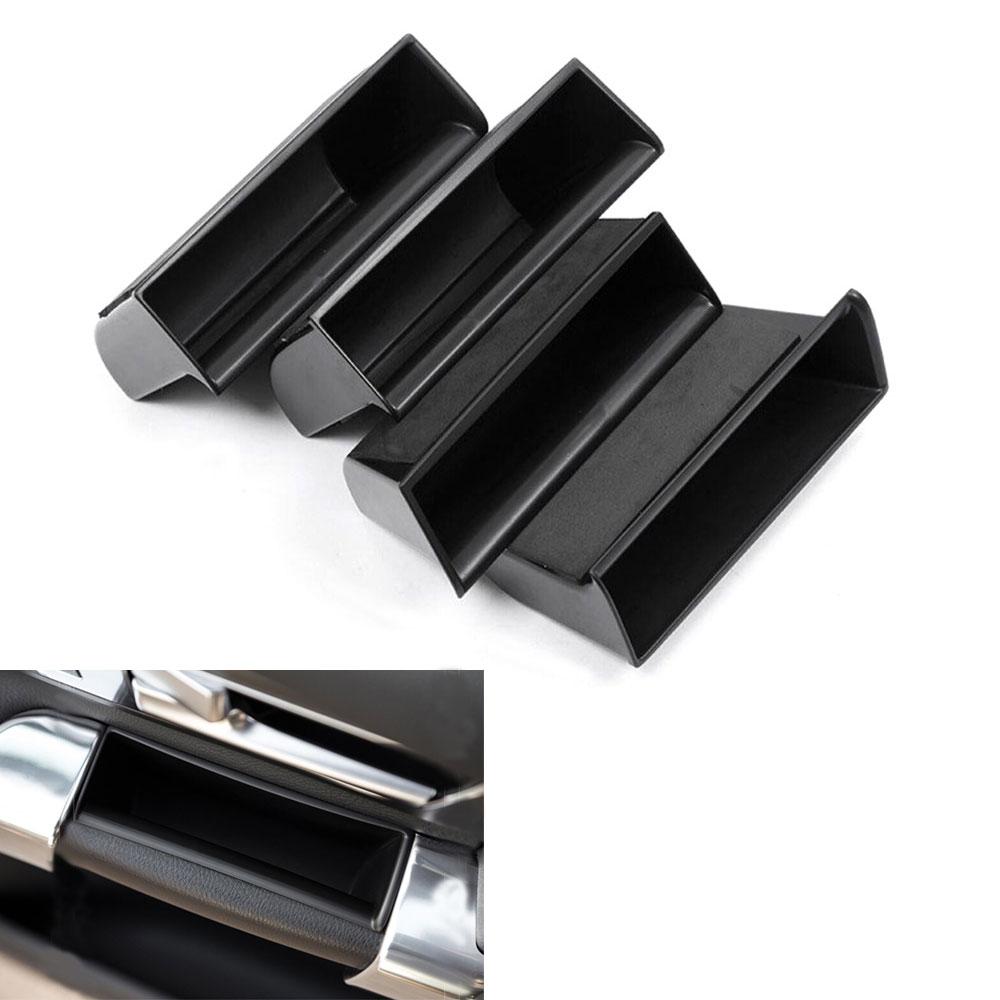 4Pcs For Land Rover Discovery 4 2010-2015 Inner Door Armrest Box Storage Holder