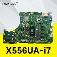 X556UA X556UAM X556UA motherboard laptop motherboard para ASUS X556U X556UJ X556UV I7 6500U original Teste motherboard