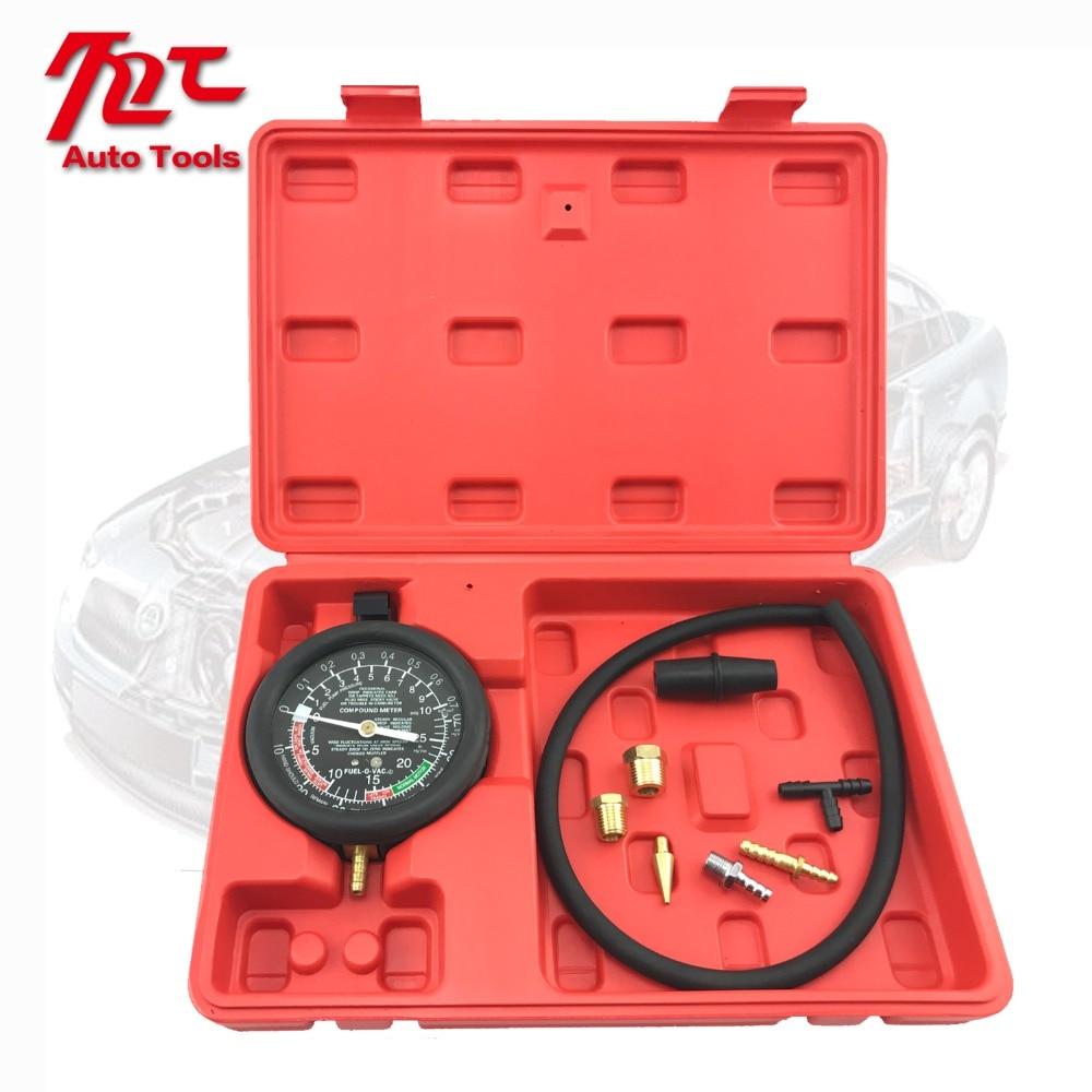 TU-1 Fuel Pump & Vacuum Tester Gauge Leak Carburetor Pressure Diagnostic Tool Set
