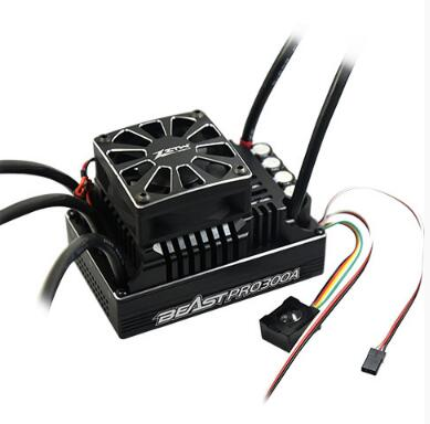 ZTW 1:5 Beast PRO SL 300A 6V/7.4V Adjustable 8A BEC Brushless ESC Waterproof All Aluminium Heat Sinking For Truck And Light Car