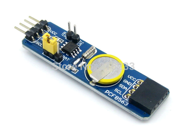module PCF8563 RTC Board Real Time Clock Calendar Module with I2C Pinheader on Board