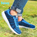 Beboy Lightweight Walking Shoes Sneakers Men Women Mesh Outdoor Trekking Sneakers Shoes Platform Jogging Running Sport Shoes