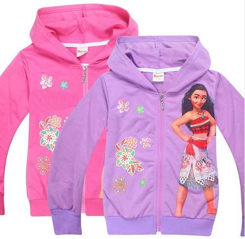 Coats Hooded-Jackets Zipper Baby-Girls-Boys Autumn Kids Children Cartoon 4-10Y Graduation