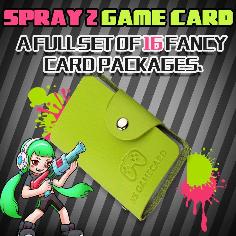 16PCS Latest Data Full SET NTAG215 Printed NFC Card Written By Tagmo Splatoon 2 Amiibo Cards