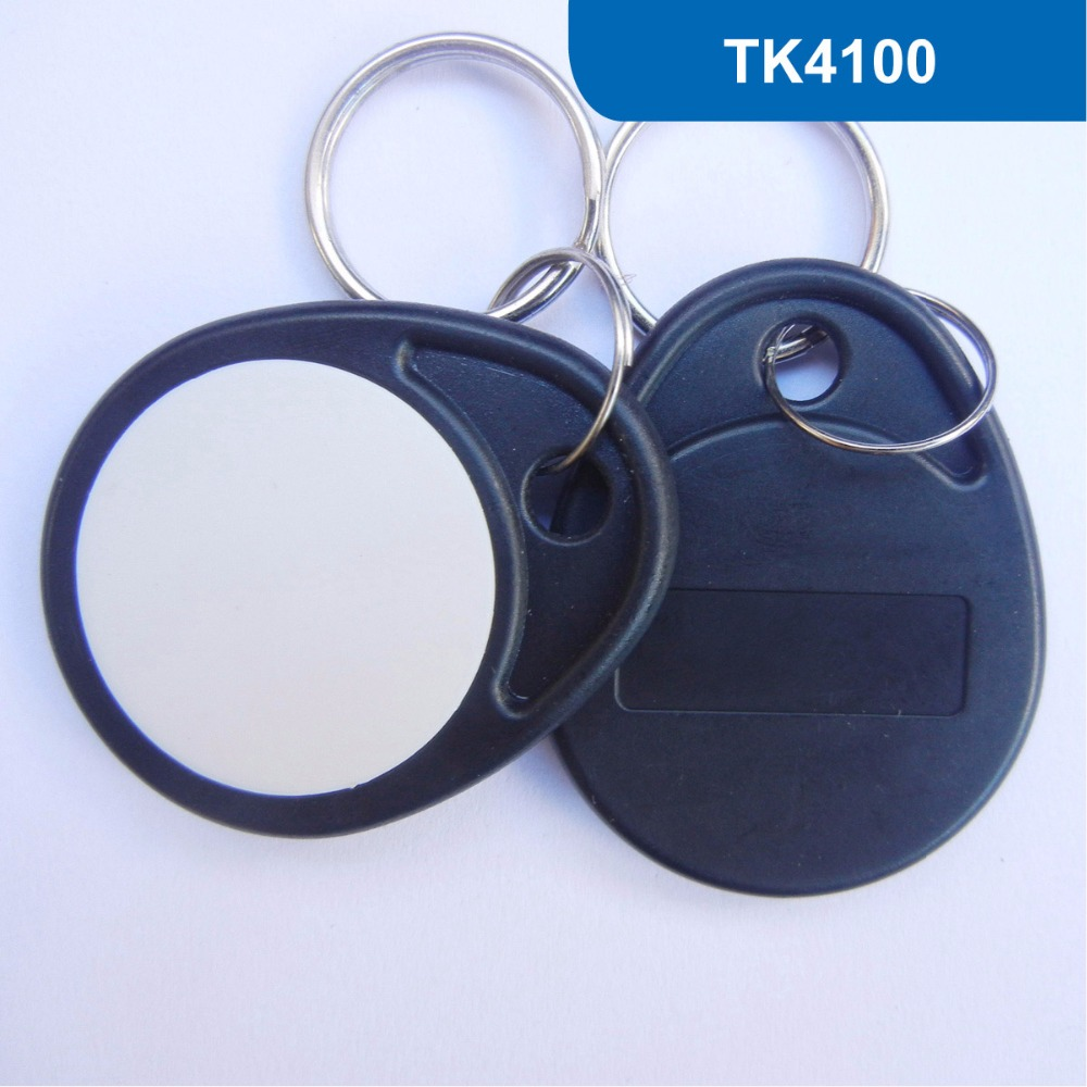 KT04 NO. 4 RFID Key Tag, RFID Key Fob for access control, RFID Tag, RFID ABS Token With 125KHZ TK4100 / EM4100 Chip 1000pcs long range rfid plastic seal tag alien h3 used for waste bin management and gas jar management