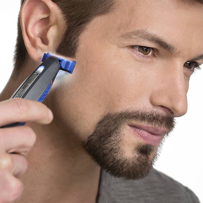 Multifunction Micro Touch SOLO Rechargeable Shaver Men Peronal Hair Cleaning Shaver Trimmer and Edger Hyper-Advanced Smart Razor (13)