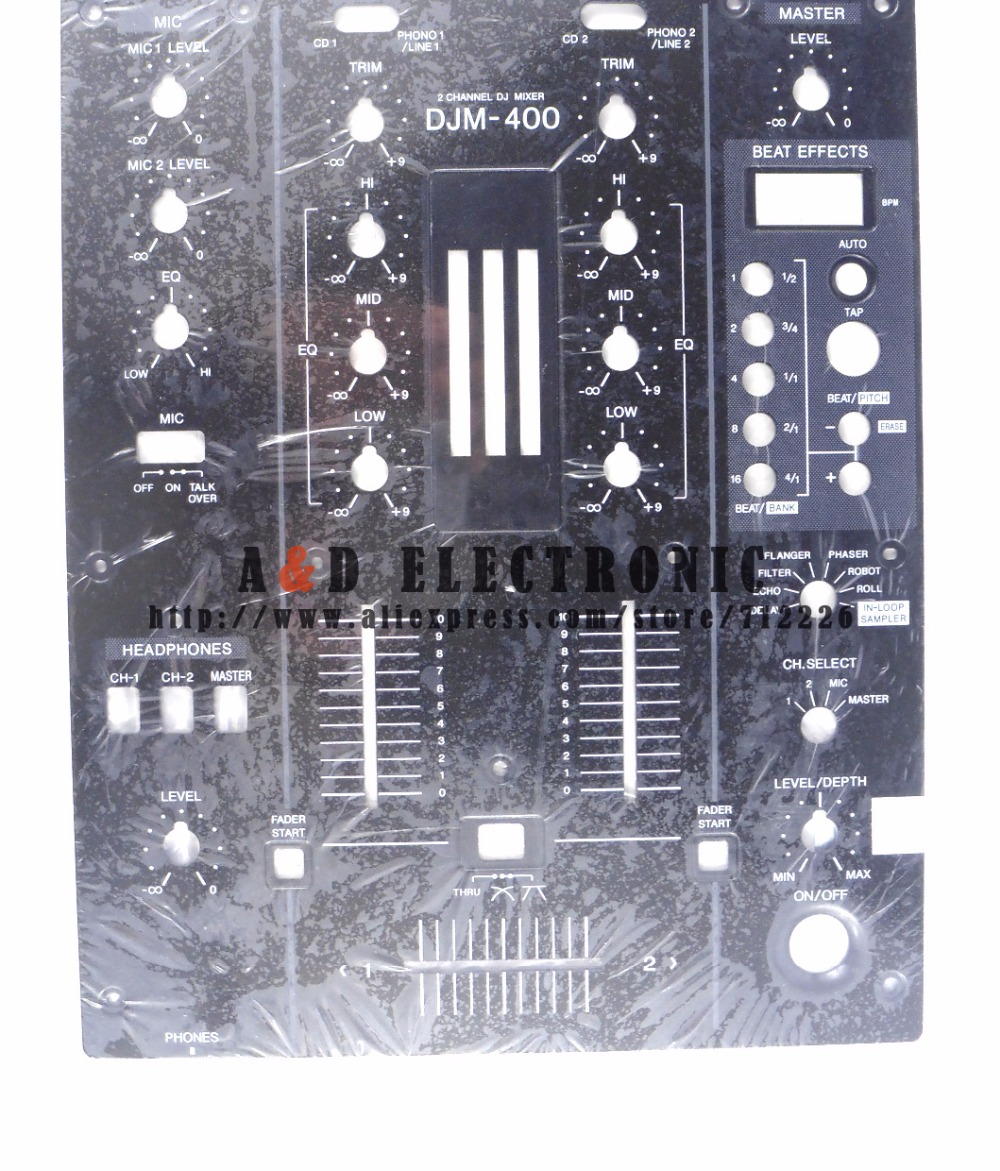 Professional Audio Equipment Capable New Oem Djm-400 Front Plate Control Panel Dnb1145 For Djm400 Mixer Carefully Selected Materials