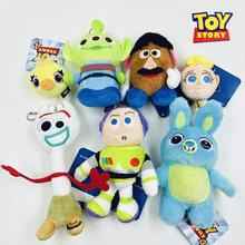 Hot Movie Toy Story 4 Plush Toys Cartoon Figure Forky Bunny Alien Buzz Lightyear Soft Stuffed Dolls Children Pendant Gifts