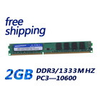 KEMBONA Brand New sealed desktop ram memoria DDR3 2gb 1333 PC10600 KBN1333D3N9/2G dual channel compatible with ALL MB