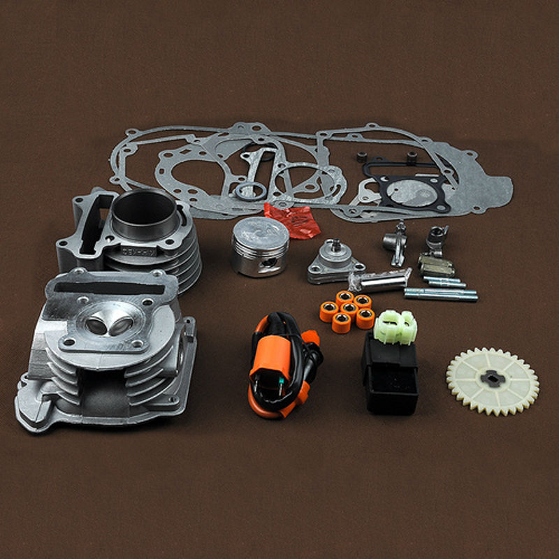 50mm Big Bore Cylinder Kit Performance Coil CDI GY6 50cc & AC CDI Ignition Coil 139QMB 1P39QMB 4 Stroke Chinese Scooters promax driven wheel block for gy6 150cc scooters atvs go karts moped quads 4 wheeler dune buggys