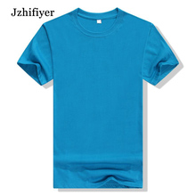 Free Shipping 10pcs/lot Factory Quality Cotton Short Sleeve O Neck Blank T Shirts Candy Colors Mixed Shipped Both for Men Lady