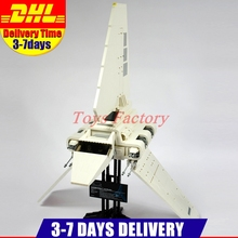 EN Stock DHL LEPIN 05034 2503 UNIDS UCS Serie El Imperial Shuttle Kits de Edificio Modelo Bloques Ladrillos de Regalo 10212