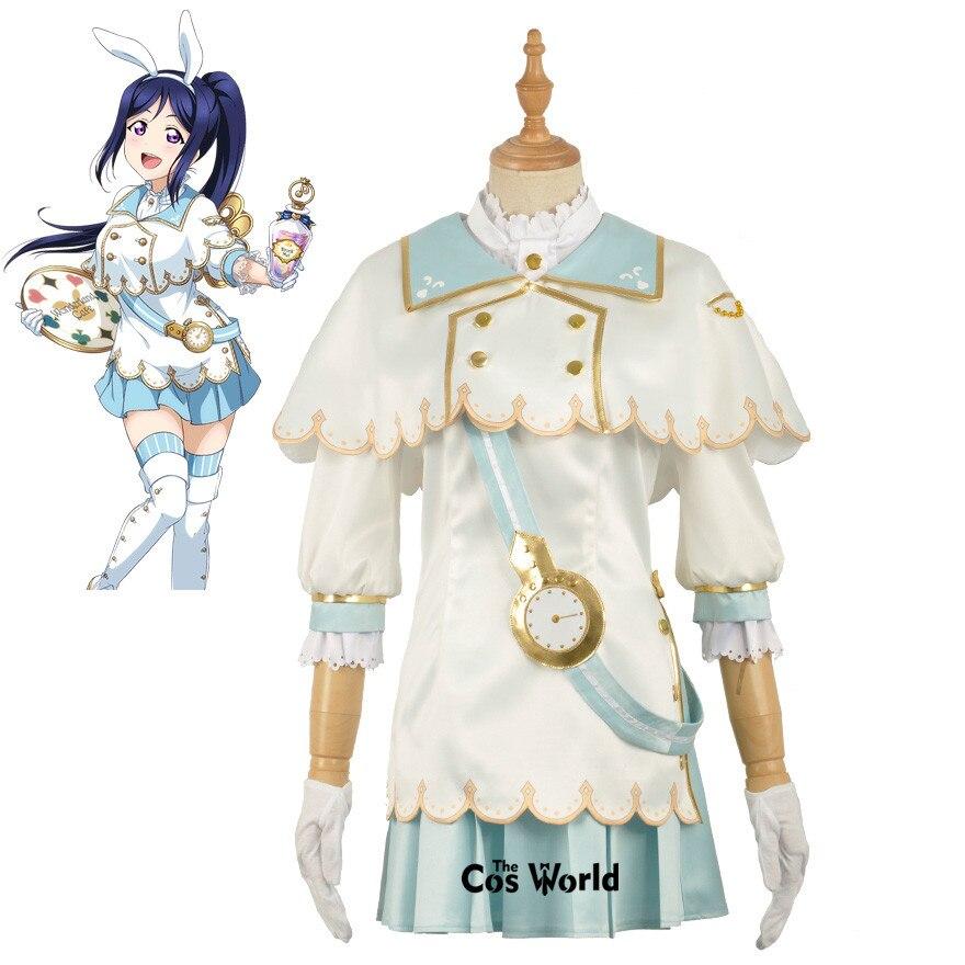 Amour Live Sunshine Aqours Alice Matsuura kanan manteau chemise robe tenue uniforme Anime Cosplay Costumes