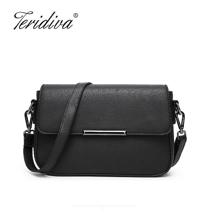 Teridiva Vintage Bag Purse Small Shoulder Bags Women Messenger Crossbody Bags for Women Brand Women Hand Bag Designer Bolsas japanese pouch small hand carry green canvas heat preservation lunch box bag for men and women shopping mama bag