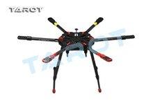 Tarot drone x6 todo o carbono hexa kit com pouso retrátil skid tl6x001 f11283