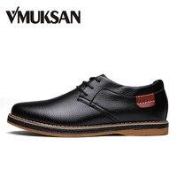 Hot Sales Mens Leather Oxfords Casual Shoes Autumn Men Dress Shoe Fashion Flats Vintage Italian Mens