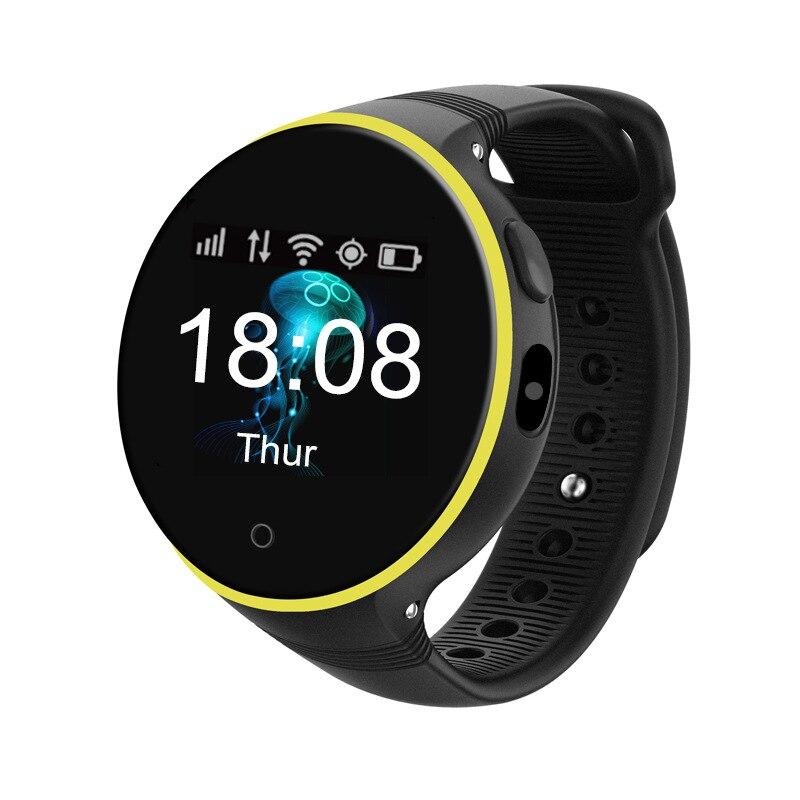 Gps умные часы новые умные 3D Зеркало сенсорный экран Дистанционное позиционирование часы телефон голос микро чат детские часы