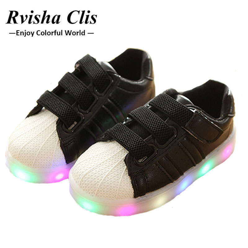 2018 New fashion girl&boy Luminous Sneakers Casual Shoes Sports shining shoes Glowing Sneakers led shoes